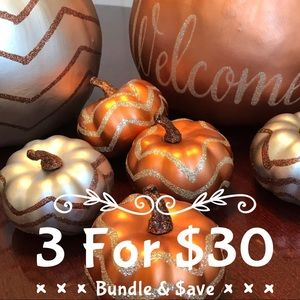 🎃 3/$30 Any listing with a 🎃 qualifies.